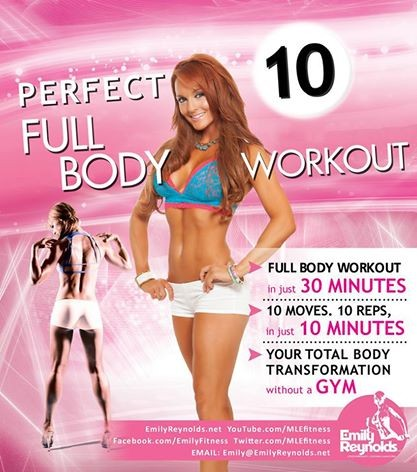 Perfect 10 Full Body Workout Cover